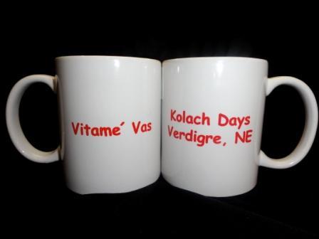 Kolach Days Mugs - $5.00