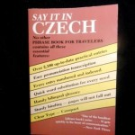 """""""Say It In Czech"""" (soft cover) - $12.00"""