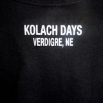 Czech Flag T-Shirt (black) - back