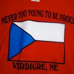 Never Too Young To Be Proud T-Shirt (red)